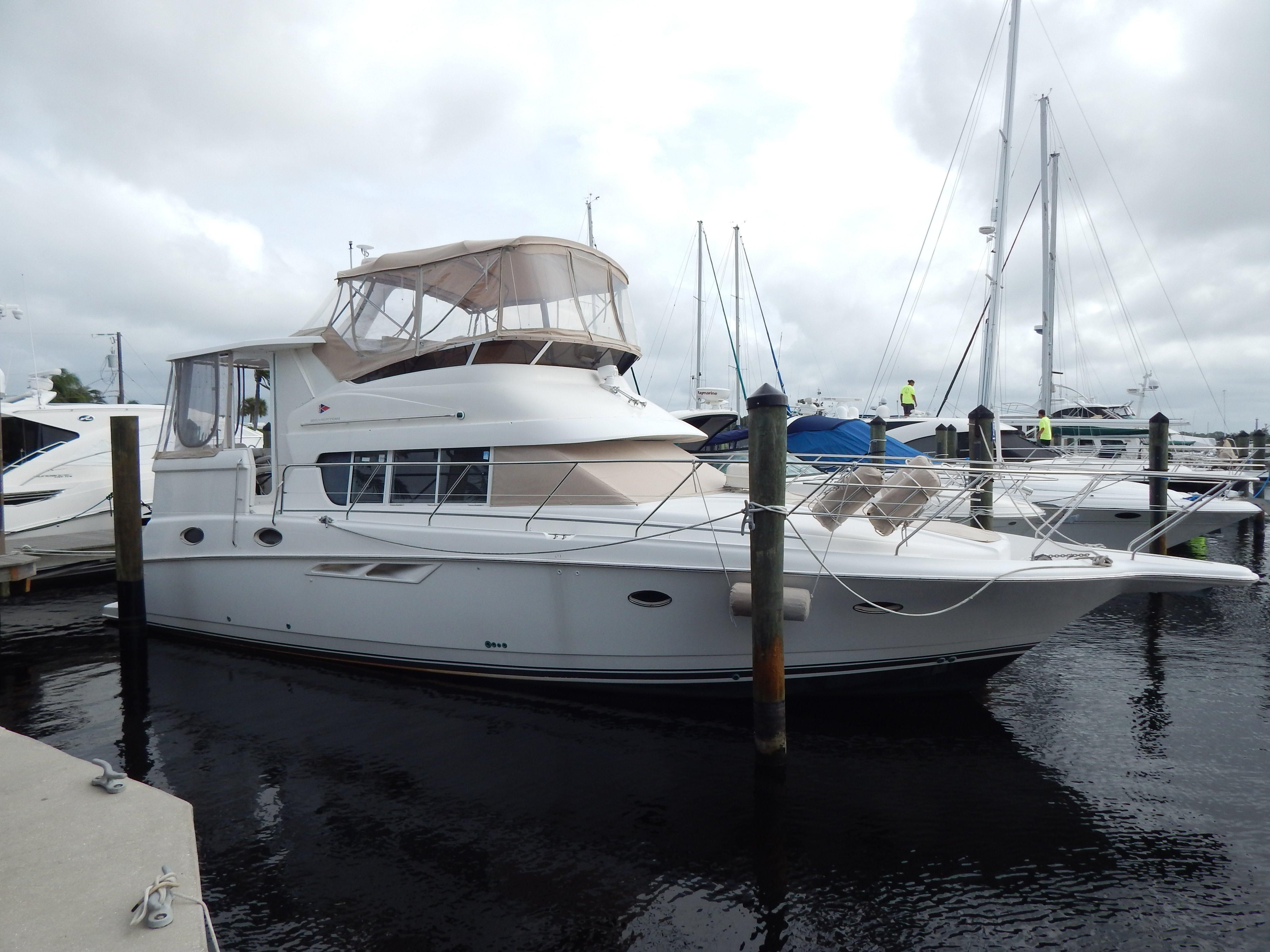 2000 silverton 422 motor yacht power boat for sale www for Motor yachts for sale in florida