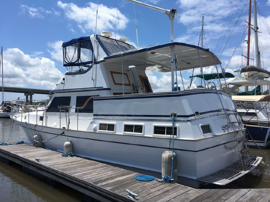 1983 Marine Trader 43 LaBelle Power Boat For Sale - www