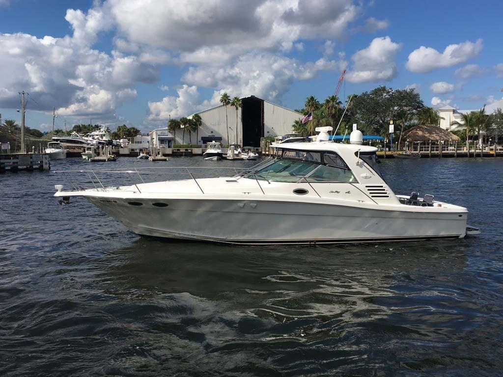 2000 Sea Ray 37 Express Cruiser Power Boat For Sale Www