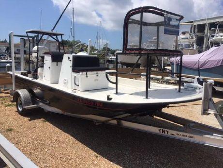 1991 Shallow Sport 18 Bahia Center Console Flats Boat
