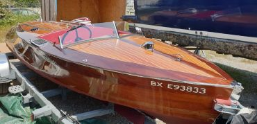 1938 Chris-Craft 16 Th race boat