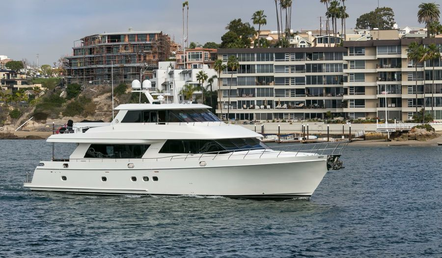 Ocean Alexander 88 Luxury Yacht for sale in Newport Beach