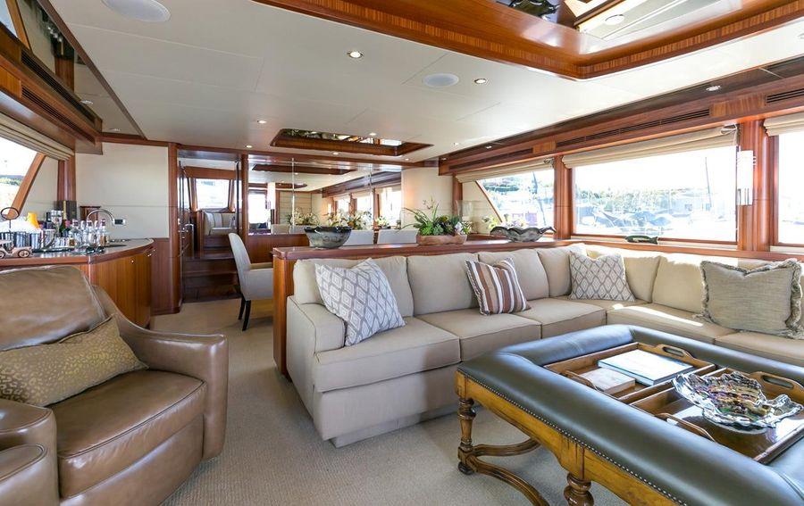 Ocean Alexander 88 Luxury Yacht Interior