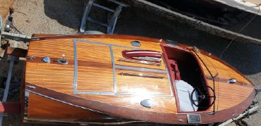1938 Chris-Craft race boat