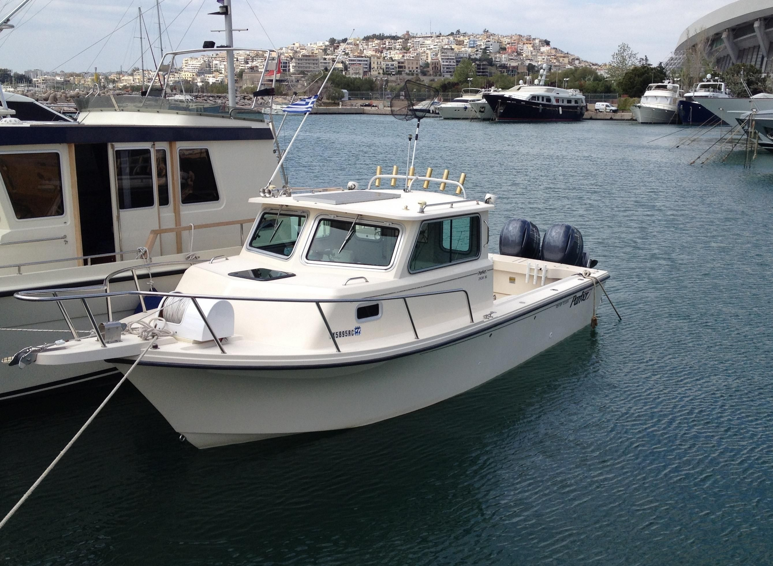 2006 Parker 2520 SL Sport Cabin Power Boat For Sale - www ...