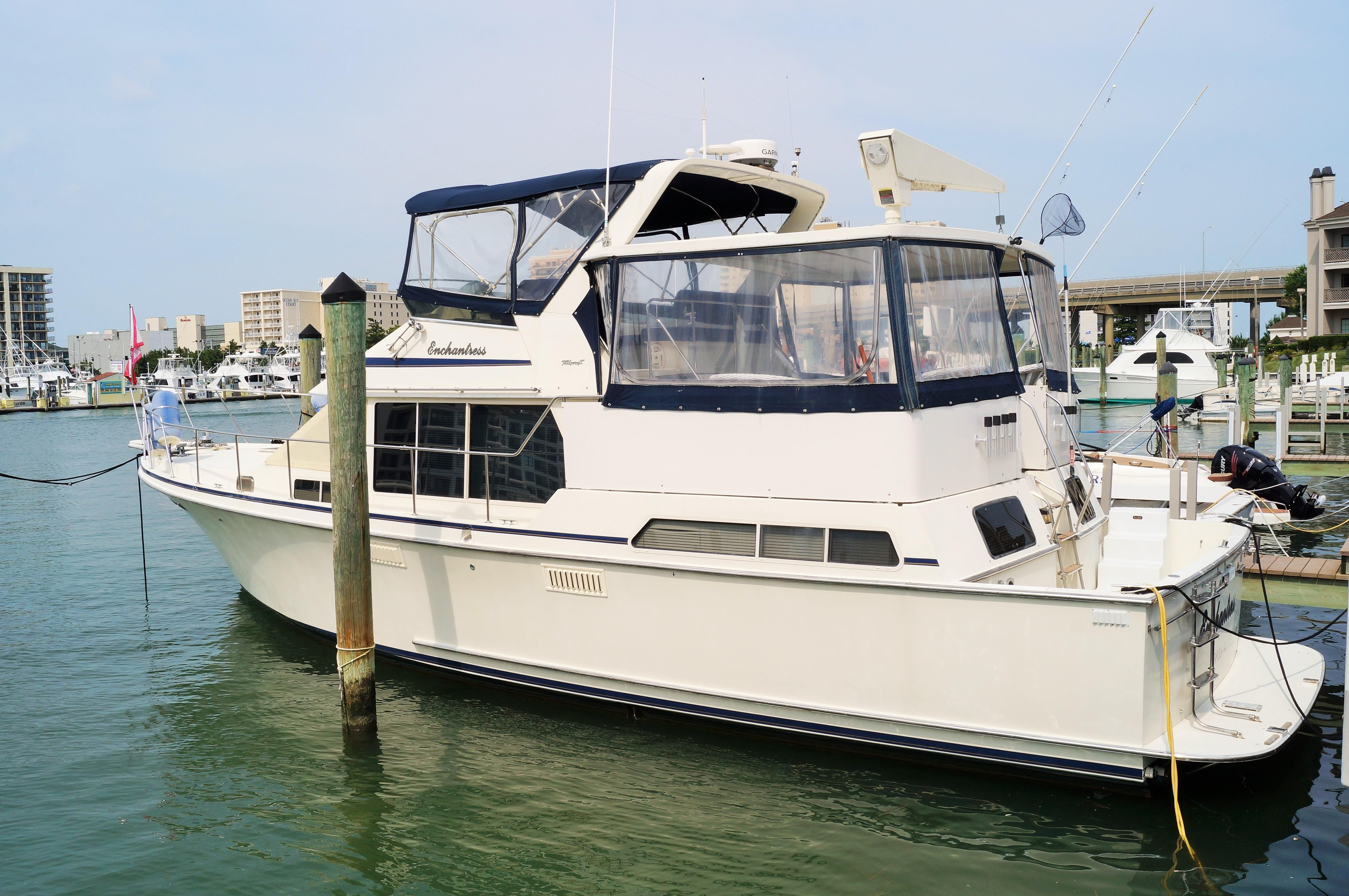 1988 tollycraft 44 cockpit motoryacht power boat for sale for 44 viking motor yacht