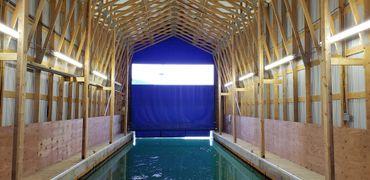2007 Custom Boathouse with Mezzanine