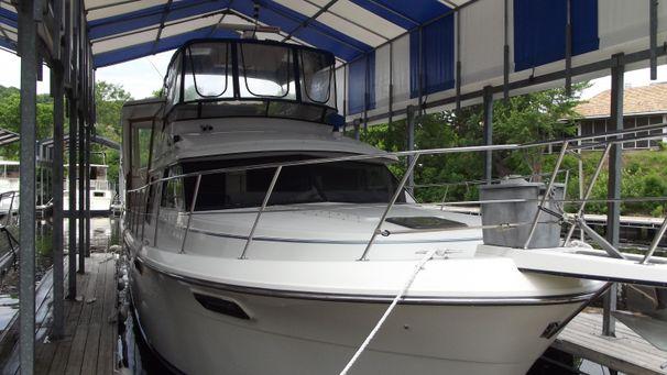 1991 carver 42 aft cabin motoryacht twin diesel power boat