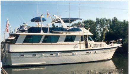 1981 Hatteras Widebody Motoryacht