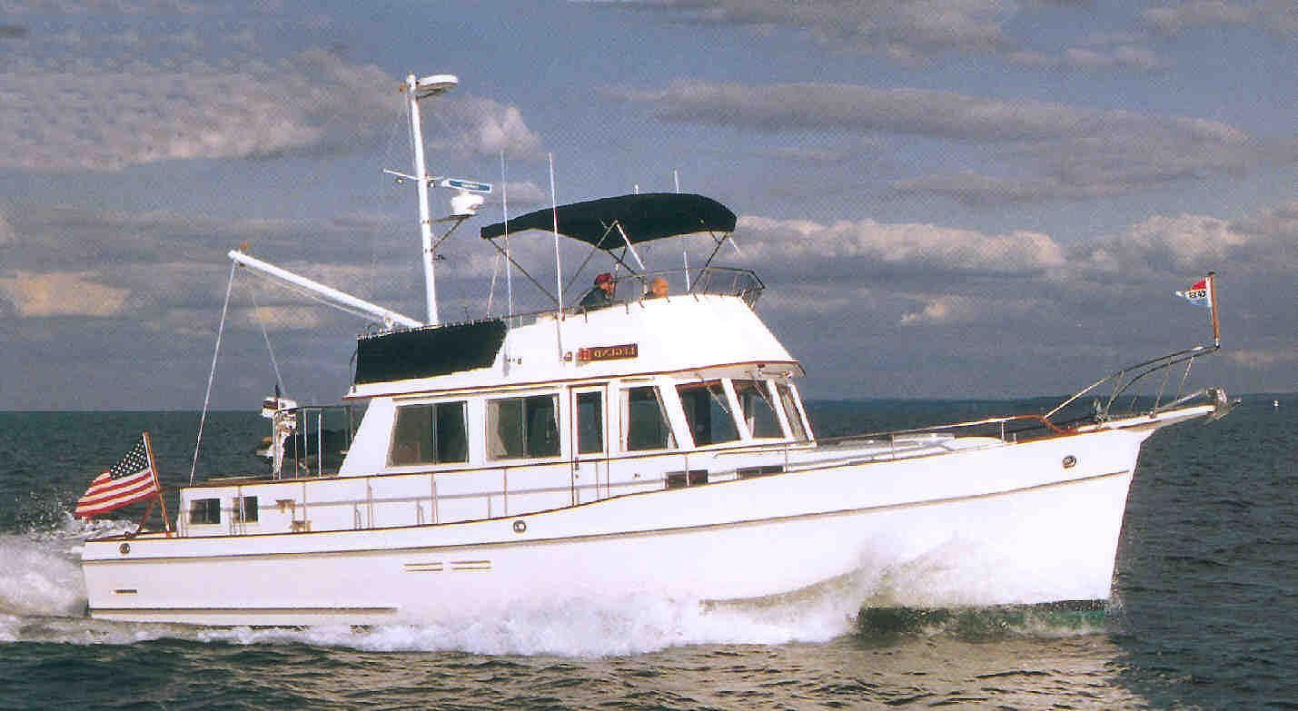 1995 grand banks 49 classic power boat for sale www