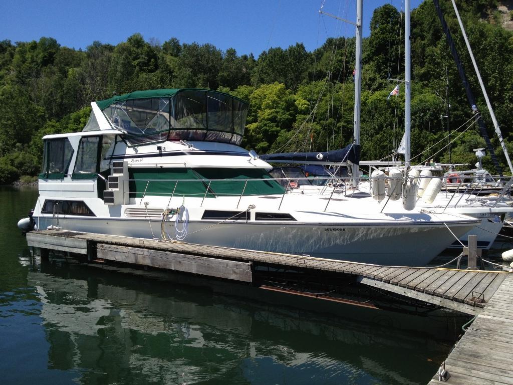 44 ft 1987 master yachts 44 sundeck