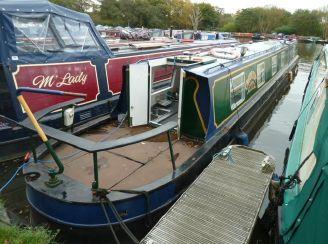 1990 R & D Fabrications Narrowboat