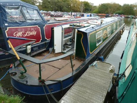 1990 R & D Fabrications Narrowboat
