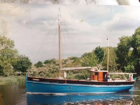 1921 West Country gaff ketch