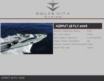 2008 Azimut 58 Fly