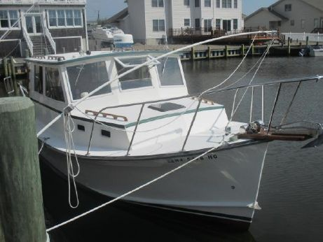 1995 Webbers Cove 29 Downeast Pilothouse