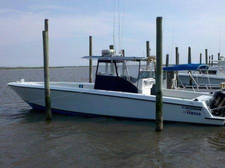 2001 Contender 36 Open Fish
