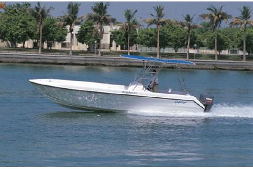 2005 Gulf Craft Dolphin 31