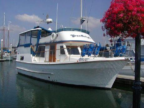 1984 Defever Fhb 38 Sundeck Trawler