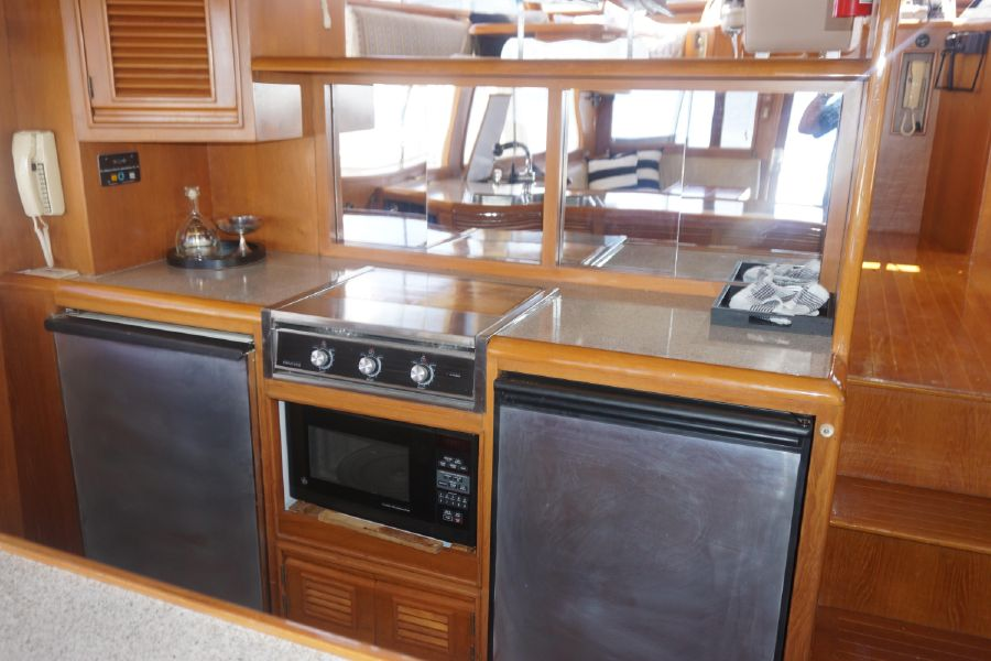 Offshore 55 Pilothouse Galley