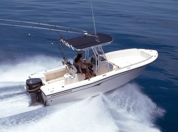 22 ft 2001 grady-white fisherman 222