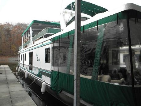 2001 Jamestowner 16x70 Houseboat