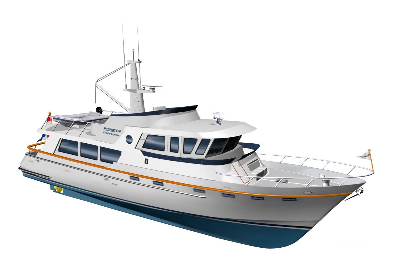 2018 Goldwater 65 CE Trawler Power Boat For Sale - www.yachtworld.com