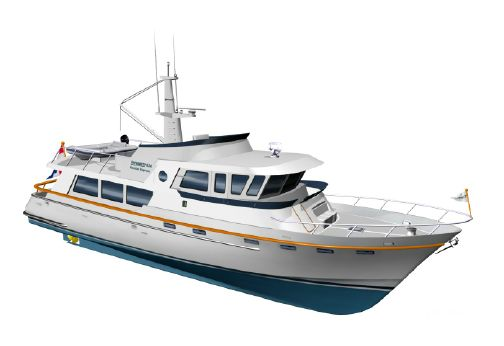 2016 Goldwater 65 CE Trawler