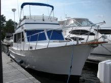 1985 Senator Flybridge Sedan Trawler