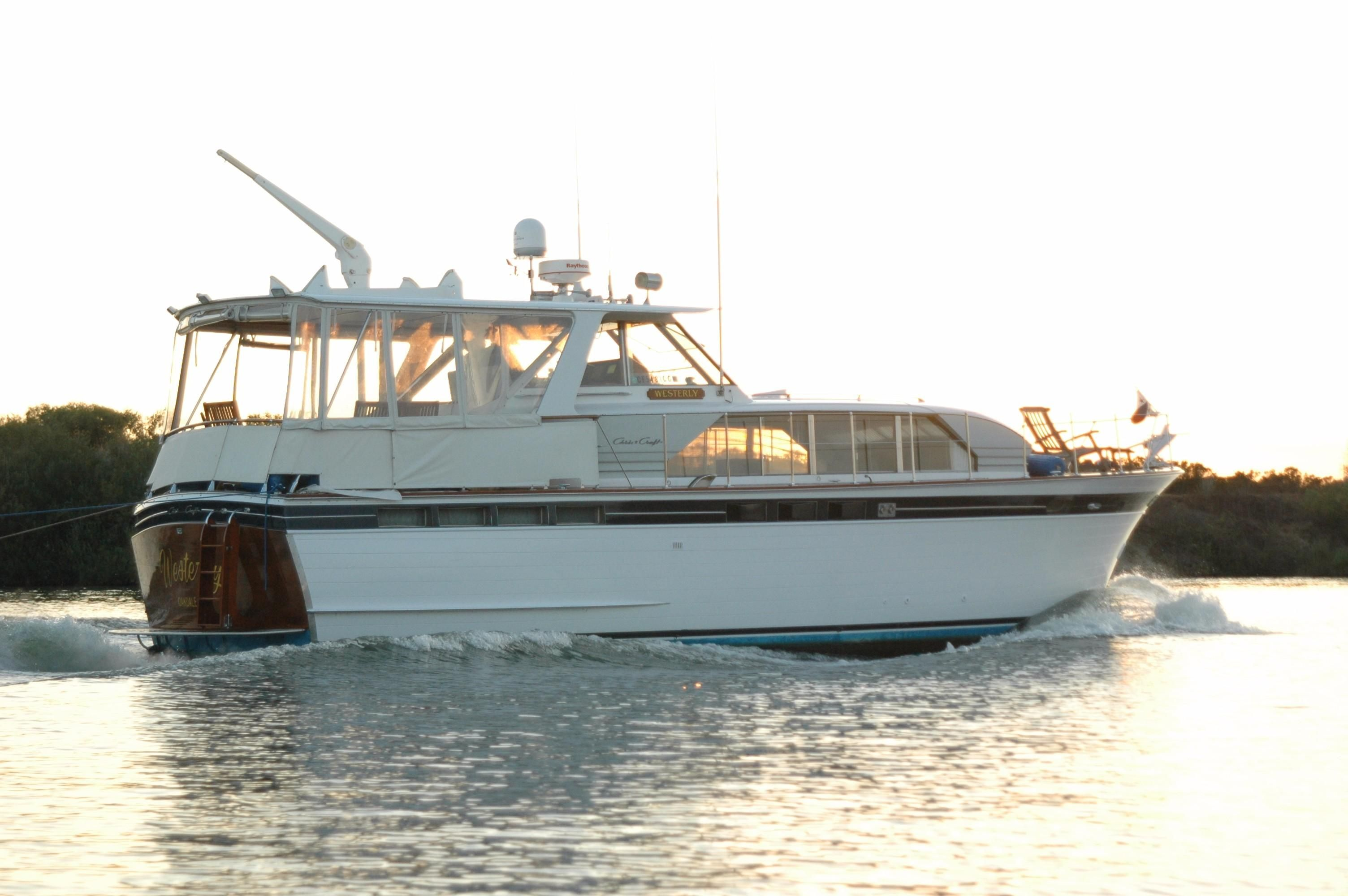 1965 Chris Craft Constellation Power Boat For Sale Www