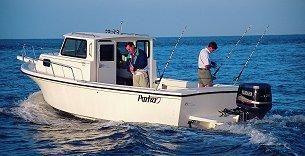 2001 Parker 2520 Deep Vee Sport Cabin