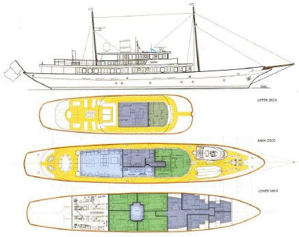 2016 Yachworld.l.t.d Turkey Classic Design Motoryacht Project