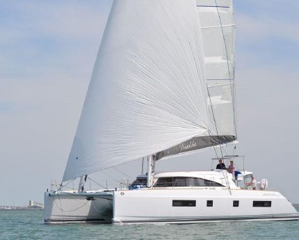 2015 Nautitech 541 single helm portside