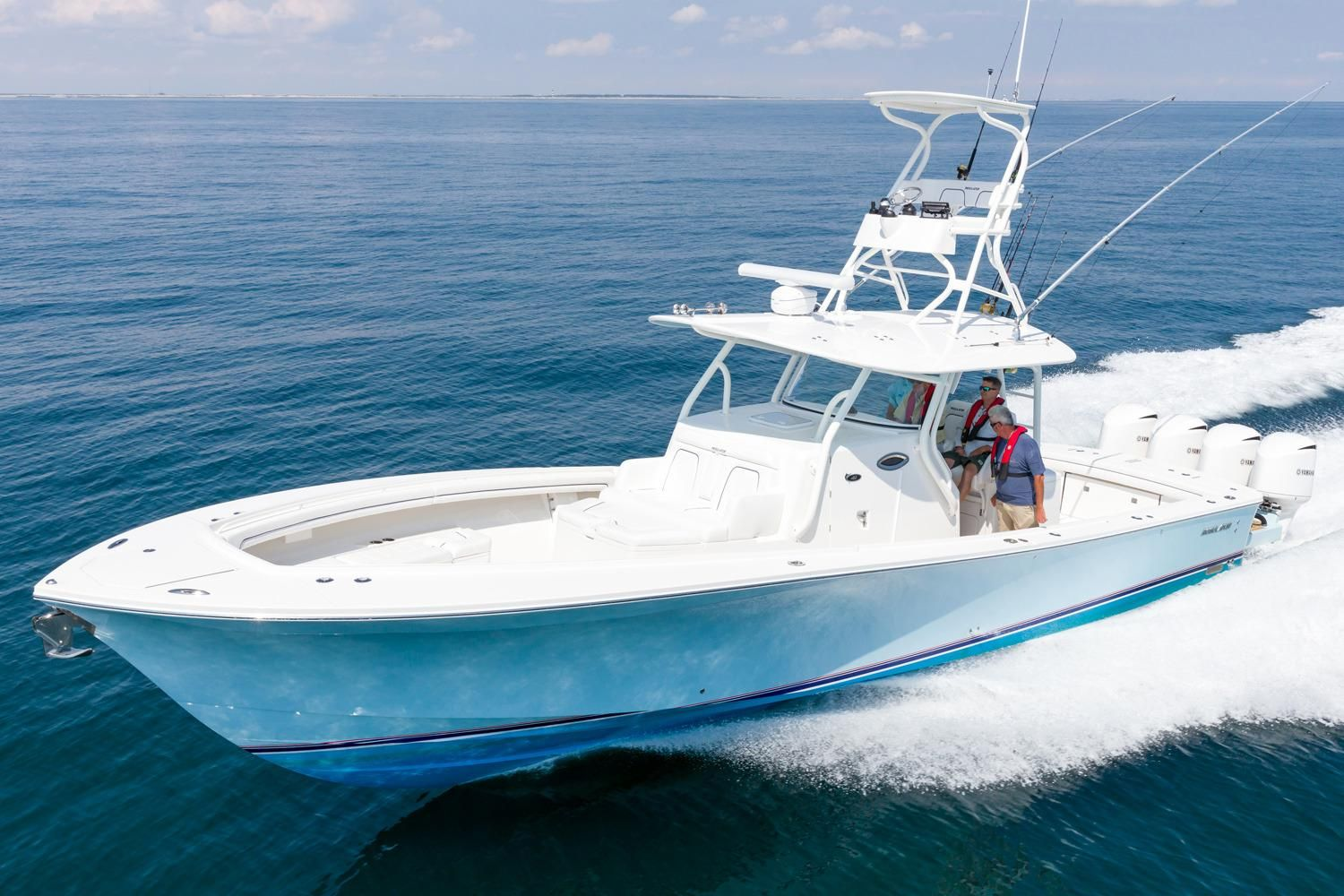 2017 regulator 41 power boat for sale for Fishing boats for sale san diego