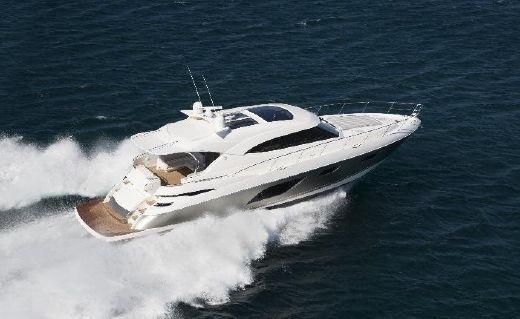 2017 Riviera 6000 Sport Yacht