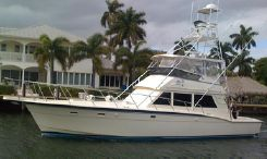 1985 Hatteras 52 Convertible w/Tower