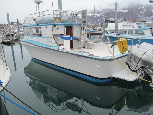 32 ft 1987 fibercraft sportfisher