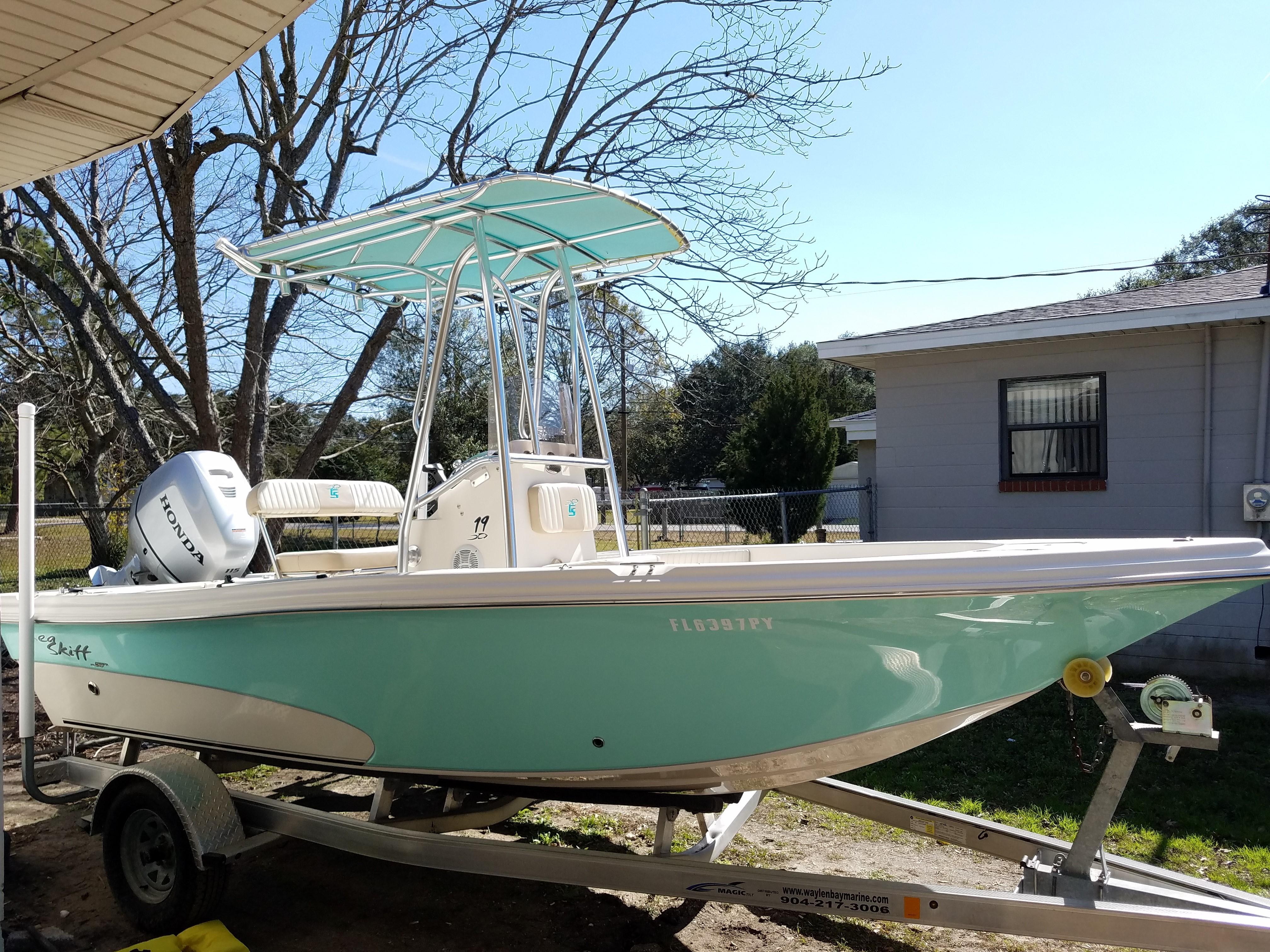 2015 Carolina Skiff 19 Sea Skiff Power Boat For Sale