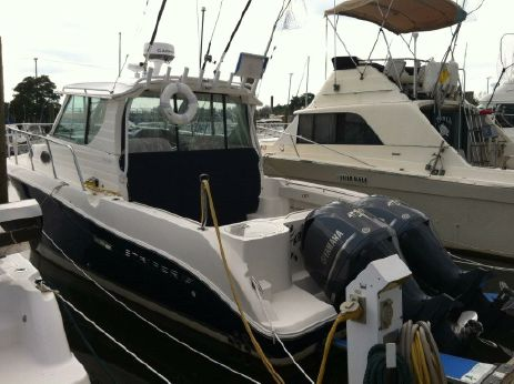 2012 Striper 2901 Walk Around O/B (Dual Engine)