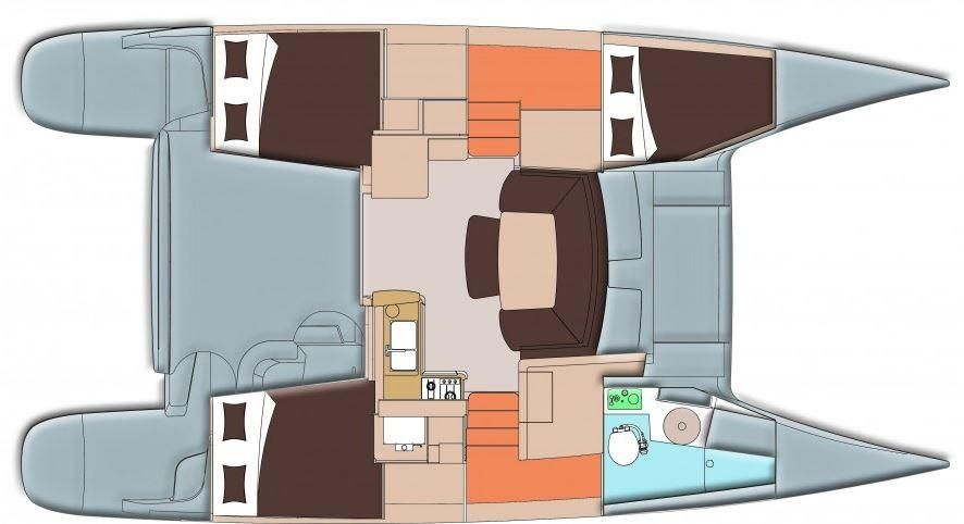 Mahe 36 Evolution Catamaran for sale