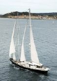 1978 Ortona Navi Custom Staysail Schooner