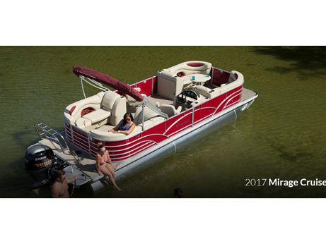 2017 Sylvan Mirage Cruise 8524 Entertainer