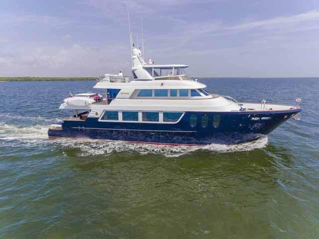 2006 MCP Yachts 98 Global Fast Trawler Power Boat For Sale