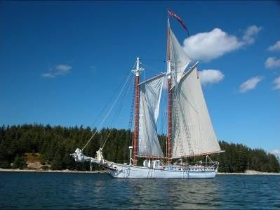 1886 Classic Gaff Rigged Topsail Schooner