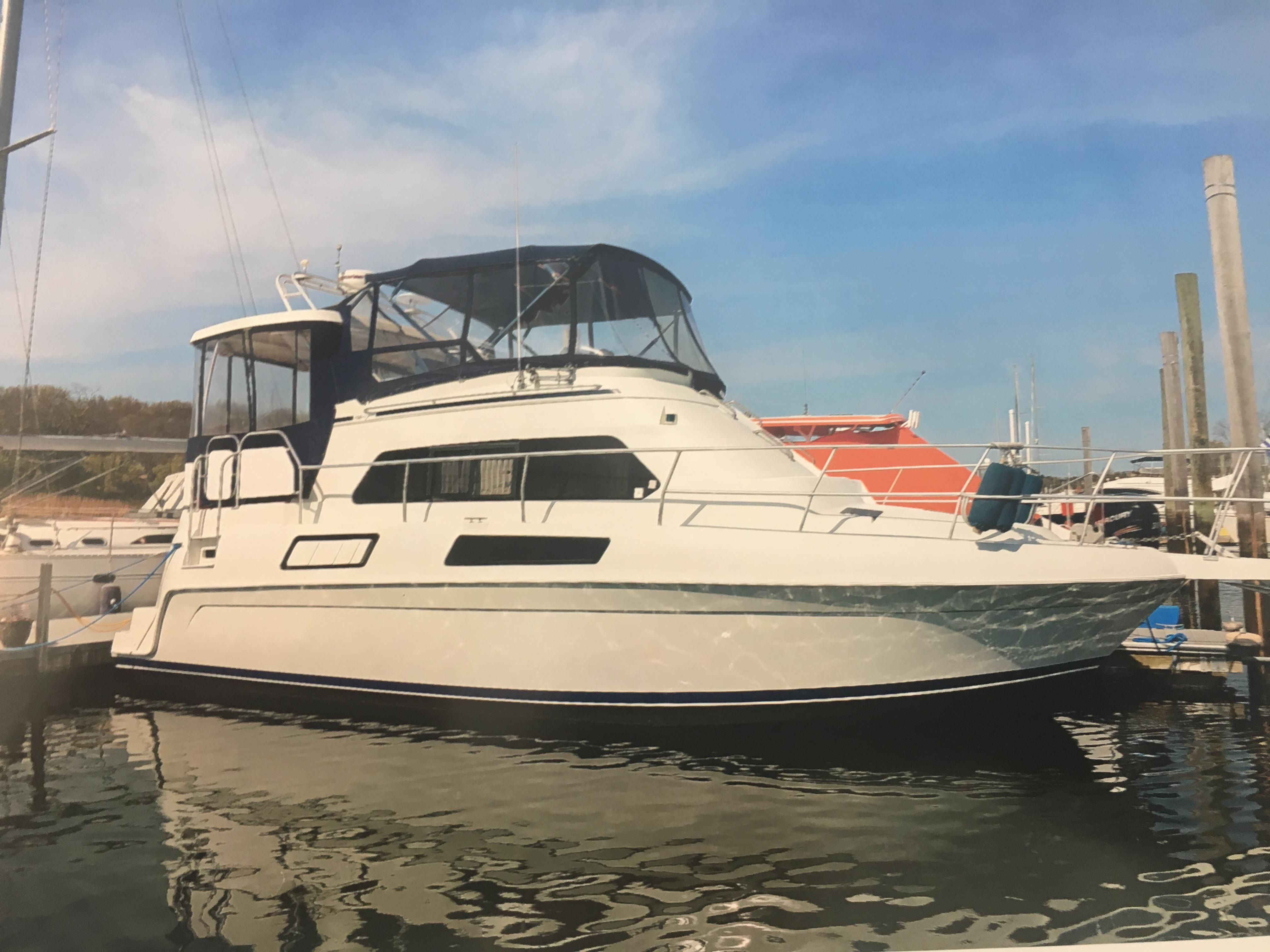 1996 mainship 37 motor yacht power boat for sale www for Large motor yachts for sale