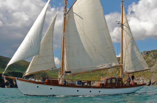 1952 William Mcbryde Gaff Ketch
