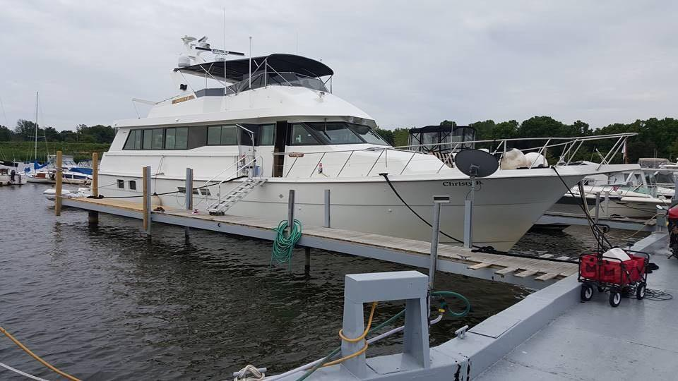 1995 Hatteras 70 Sport Deck Motor Yacht Power New And Used