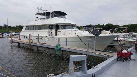 1995 Hatteras 70 Sport Deck Motor Yacht