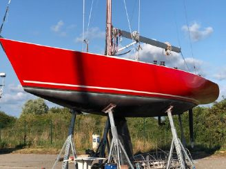 1983 Sailboat Soverel 43