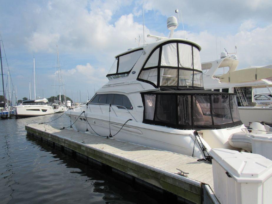 2002 Sea Ray 480 Sedan Bridge Power Boat For Sale - www yachtworld com